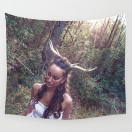 Horned Goddess Wall Tapestry
