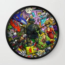 Retro Toy Box Wall Clock