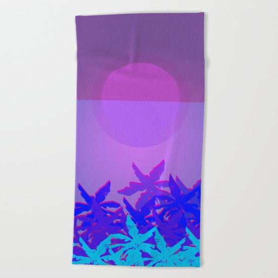 Summer Time 3 Beach Towel
