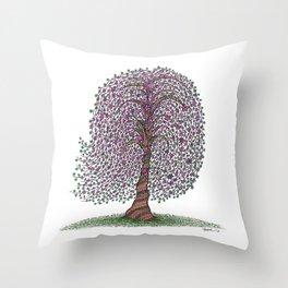 A tree of legend Throw Pillow