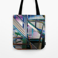 architecture Tote Bags featuring Architecture by Paris Martin