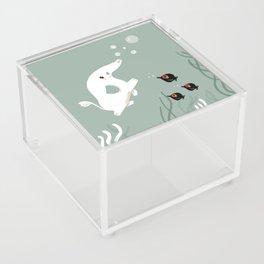 Ocean Elephant Acrylic Box