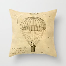Falling, With Style Throw Pillow