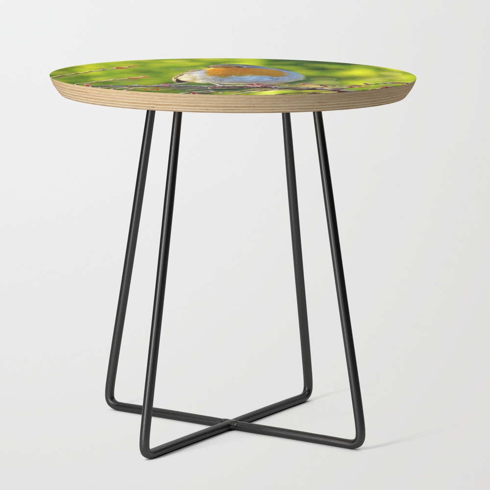 Robin Redbreast Side Table by Catherineogden (STD8331014) photo