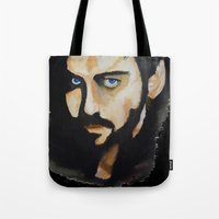 hook Tote Bags featuring Hook by Brittany Ketcham