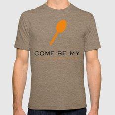 Little Spoon - Orange is the New Black Tri-Coffee Mens Fitted Tee SMALL
