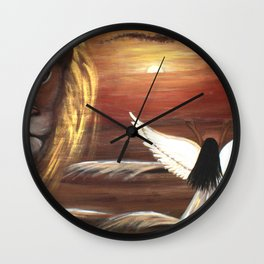 Son Of Righteousness Rising-2 Wall Clock