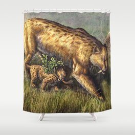 First Hunt Shower Curtain