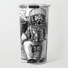 bob and frank's couch capsule Travel Mug