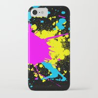 splatter iPhone & iPod Cases featuring Splatter by Spooky Dooky