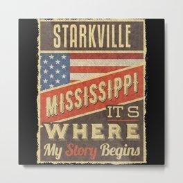 Starkville Mississippi Metal Print