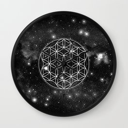 Flower Of Life 004 Wall Clock