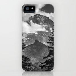 Jungfrau Mountauin. 4.158 Meters. Swithzerland Alps iPhone Case