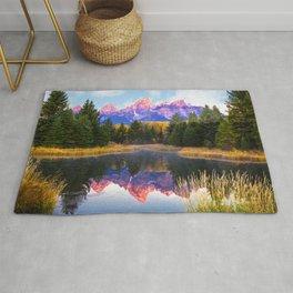 Beaver Pond, Grand Teton National Park Rug