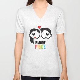 Bmore Pride - Women Unisex V-Neck