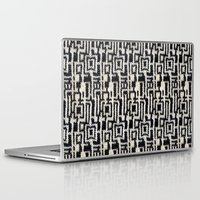 knit Laptop & iPad Skins featuring Maze Knit by JoAnna Seiter