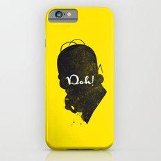 Doh – Homer Simpson Silhouette Quote iPhone 6s Slim Case