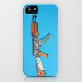 MORE PEACE iPhone Case