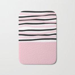 Color Block Bath Mat