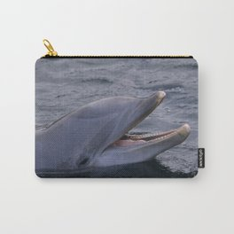 Dolphins Smile Carry-All Pouch