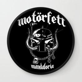 MotorFett Wall Clock