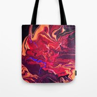 royal Tote Bags featuring Royal by Claire Day