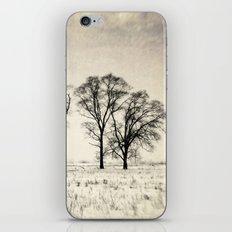 Dark Winter Days iPhone & iPod Skin