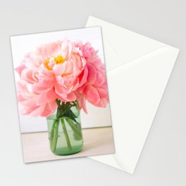 peonies 06 Stationery Cards