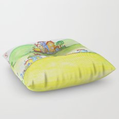 The hills Floor Pillow
