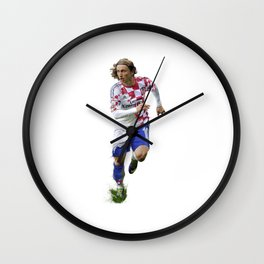Luka Modric Wall Clock