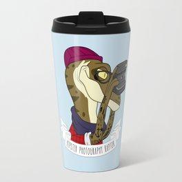 Hipster Photography Raptor Travel Mug