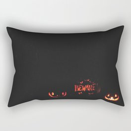 Beware!  Rectangular Pillow