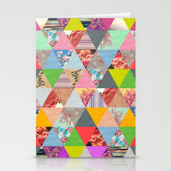 Lost in ▲ Stationery Cards