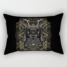 Samurai mask Rectangular Pillow