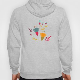 Colorful little spring flowers Hoody