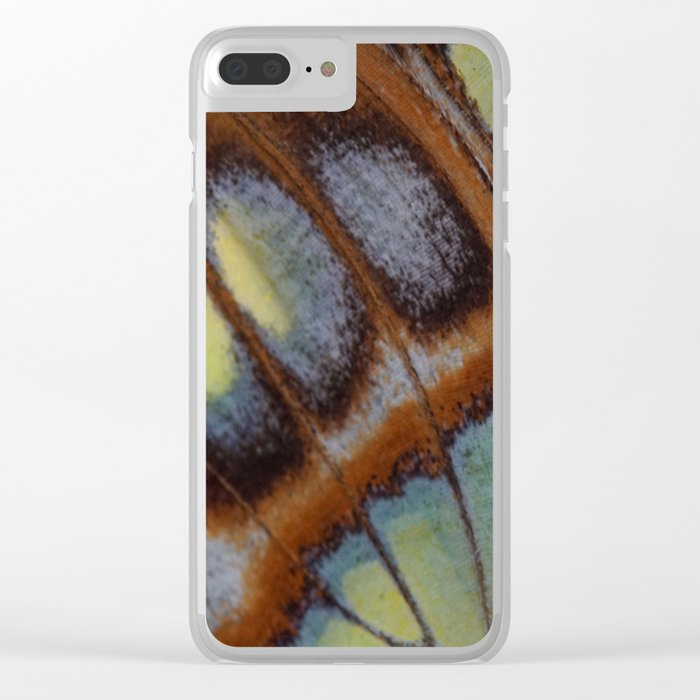 Butterfly Wing Clear iPhone Case