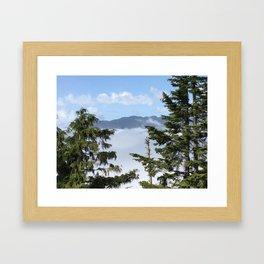 Mt. Seymour- Dog Mountian Framed Art Print