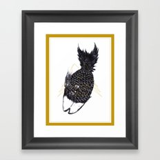 《魚蘿果的食素夢》—魚蘿果 Framed Art Print