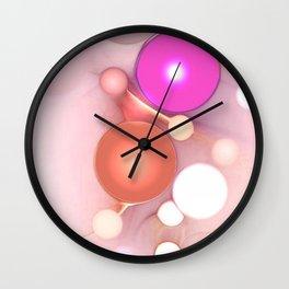 Sisters Abstract Art Wall Clock