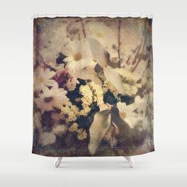 Flowers of Nostalgia Shower Curtain