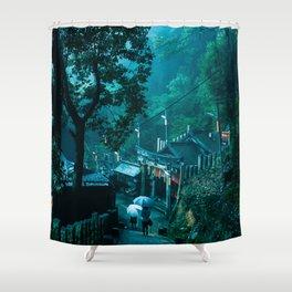 Fushimi Inari Taisha shrine Kyoto Shower Curtain