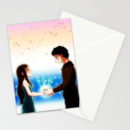 I love you and it's our secret Stationery Cards