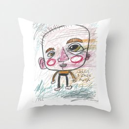 Unless I Fade Away Throw Pillow