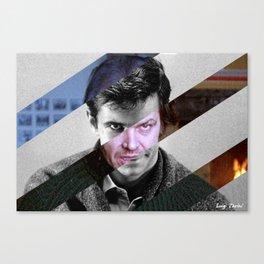 MashUp of Norman Bates & Jack Torrance Canvas Print
