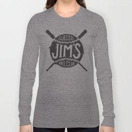 Classic Jim's Ball Club - Tshirt Long Sleeve T-shirt