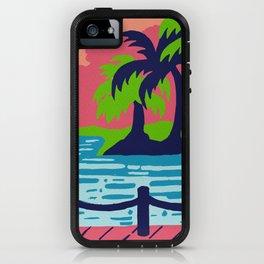 Beach paradise iPhone Case