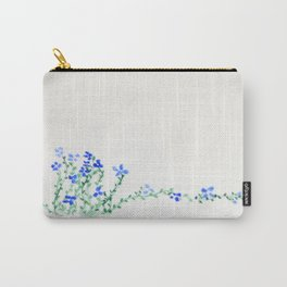 Ella's Forget-Me-Nots Carry-All Pouch