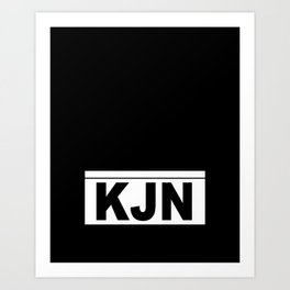 KJN Art Print