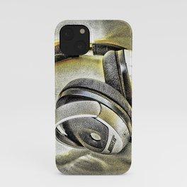 Headphones III iPhone Case