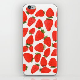 Some Strawberries iPhone Skin